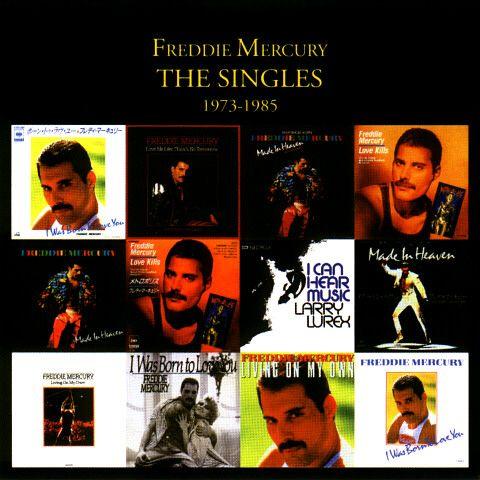 Freddie Mercury Discografia Singles 1973 85