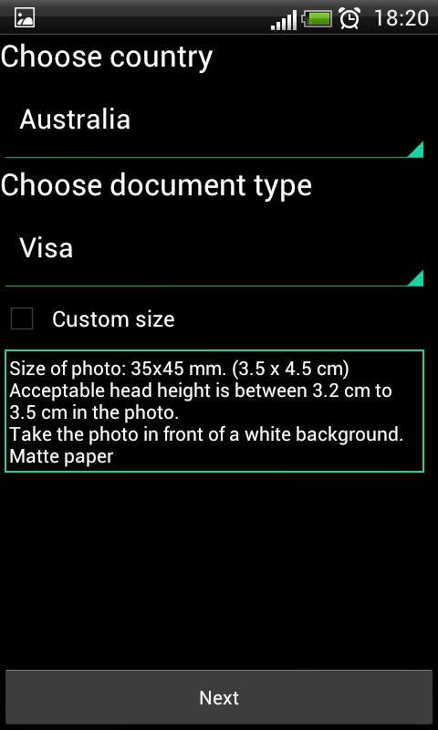 ID Photo PRO - screenshot