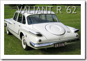 CHRYSLER VALIANT R SERIES 1962 SEDAN