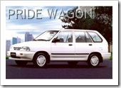 KIA PRIDE STATION WAGON