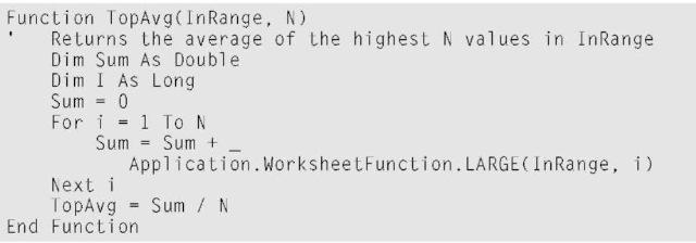 Creating Worksheet Functions — in Excel VBA