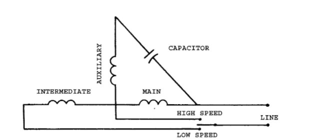 single phase 3 speed motor wiring diagram