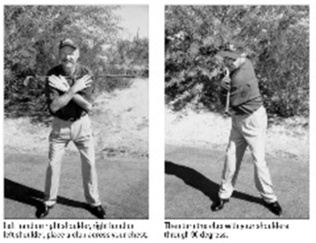Starting the Swing: First, Break It Down (Golf)