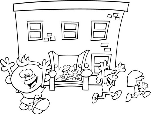 Coloring pages recess ~ recess - free coloring pages | Coloring Pages