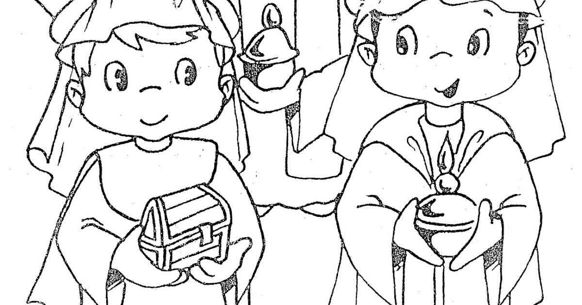 The Three Wise Men Day - free coloring pages | Coloring Pages