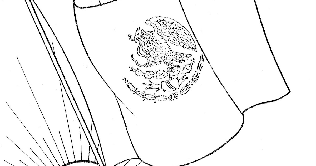 Mexican Flag Free Printables Pages Coloring Pages