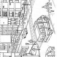 Dibujos De La Ciudad Para Colorear