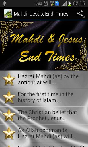 Mahdi Jesus End Times
