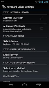 G-Tech Keyboard S3 Driver screenshot 0