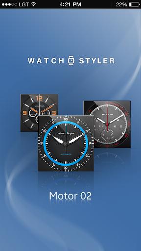 Watch Face Gear - Motor2