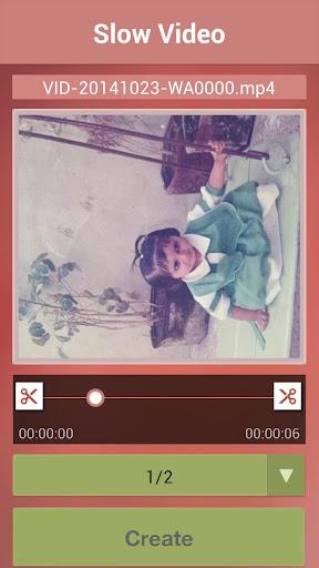【免費媒體與影片App】Slow Video Maker-APP點子