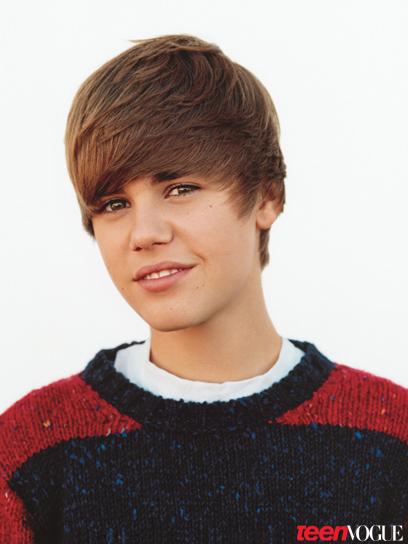 Justin Bieber Teen Vogue October Coverboy