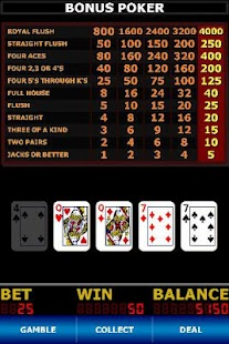 Video Poker Classic - screenshot thumbnail