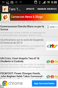 TamTam Cameroon News screenshot 0