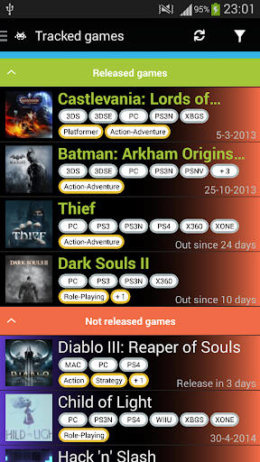GameRD+ - Game Release Dates+