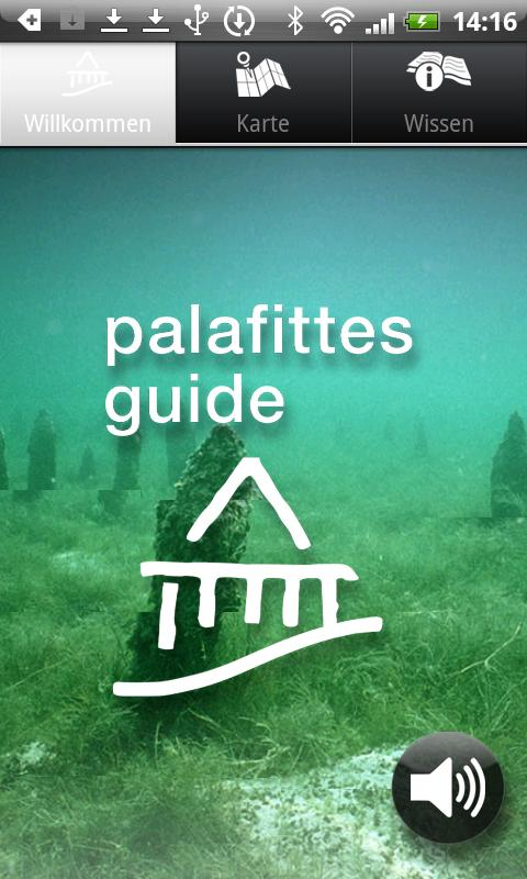 Palafittes Guide- screenshot