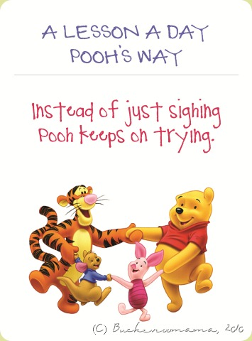 Pooh's lesson