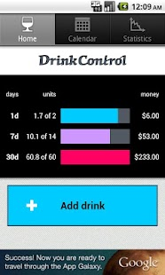 DrinkControl - alcohol tracker- screenshot thumbnail
