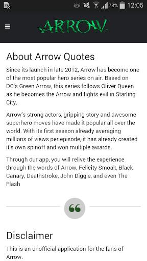 玩免費媒體與影片APP|下載Arrow Quotes app不用錢|硬是要APP