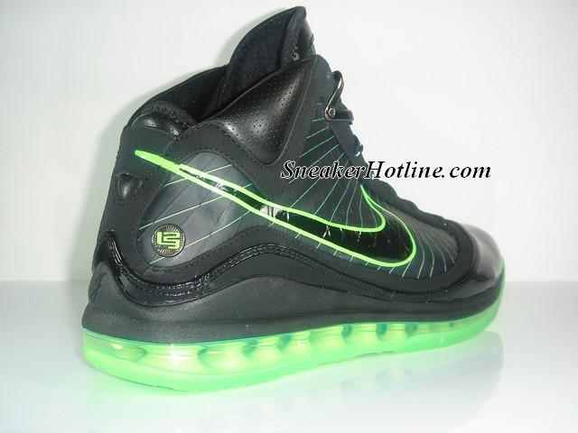 Nike Air Max Lebron Vii Black Mean Green Dunkman Edition Nike