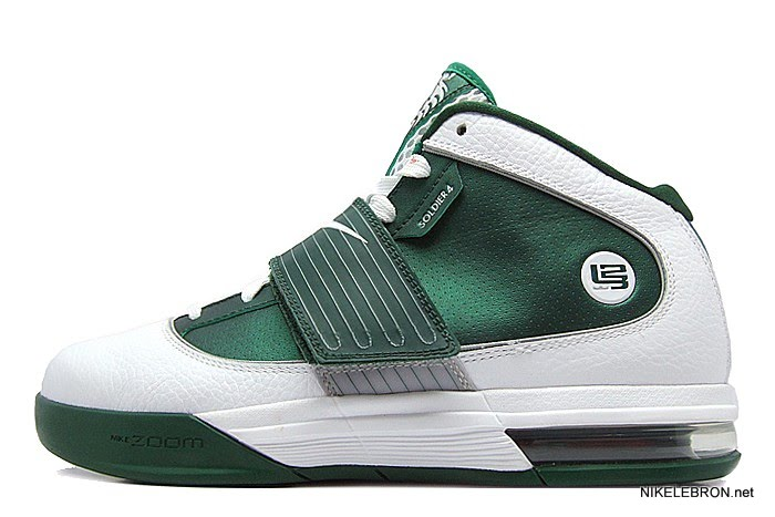 f965b44af54d Nike Zoom Soldier IV 4 TB 8211 WhiteGreen Sample New Photos ...