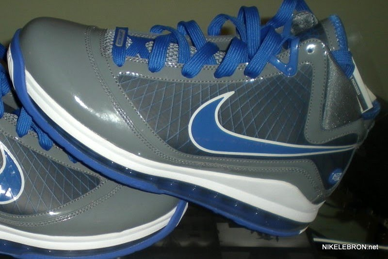 db8e97642d4 Preview of the Cool Grey Varsity Royal-White Air Max LeBron VII ...
