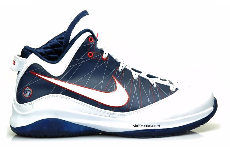 3217ed46151 ... Nike LeBron 7 PS wZoom Air 8211 Actual Photos 8211 WhiteNavy ...