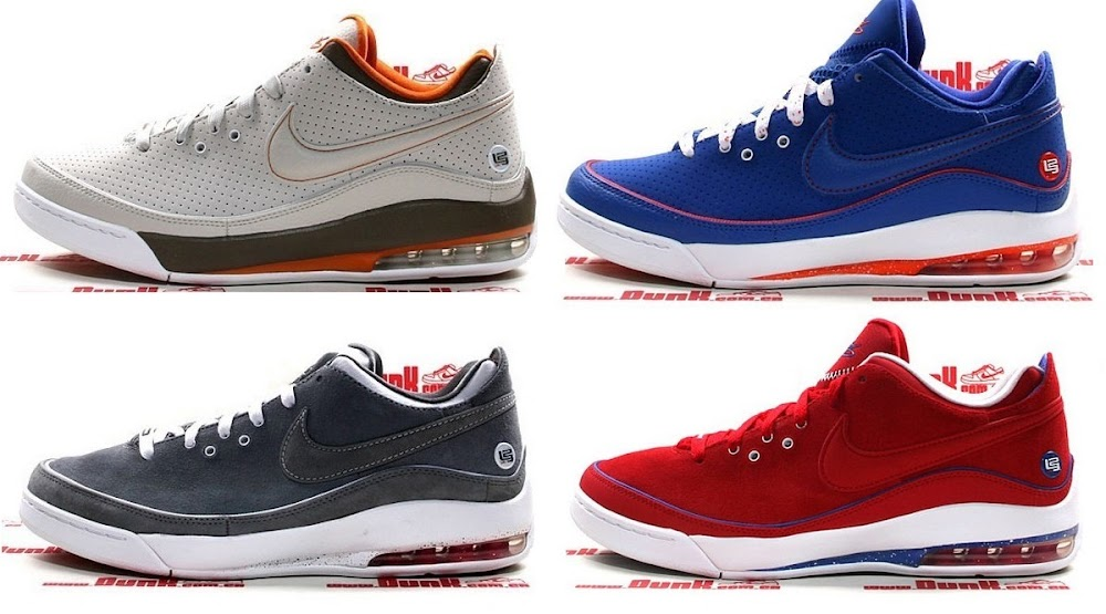 lowest price fcca4 63c00 Air Max LeBron VII Low Rumor Pack 8211 Knicks Nets Russia Browns ...