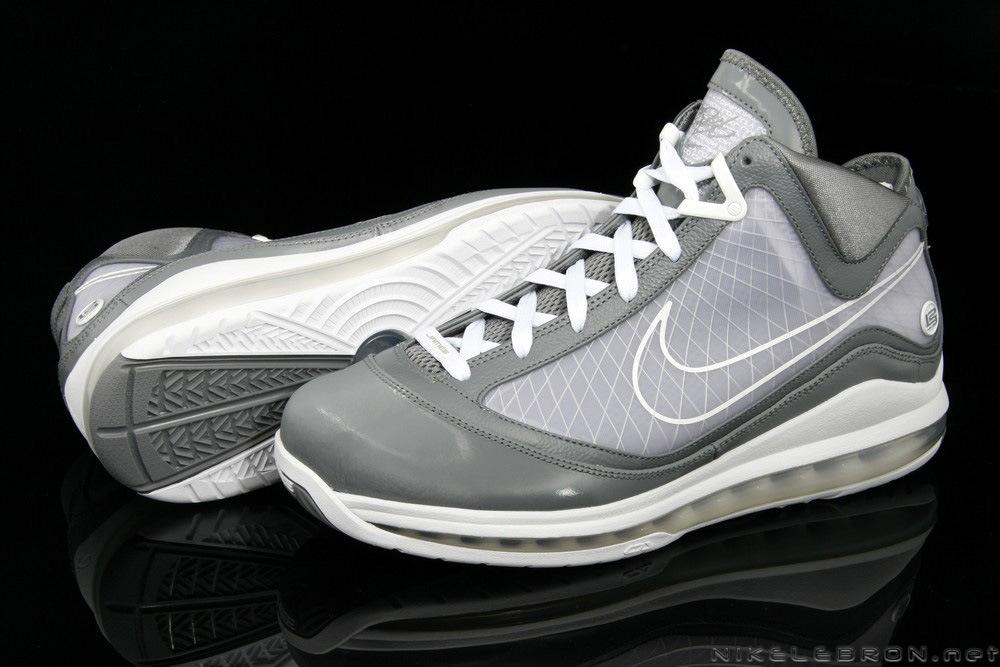a0e6136b7e0c A Fresh Look at Air Max LeBron VII (7) Cool Grey   White