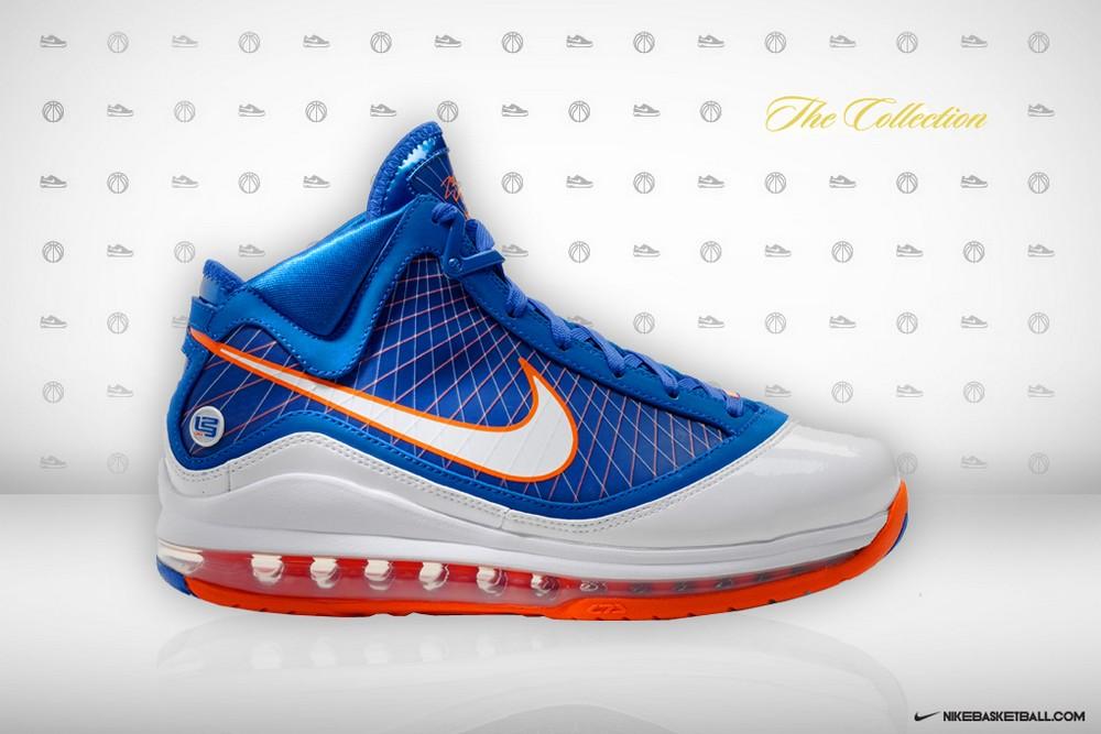 d5848cbaab39e ... Nike Air Max LeBron VII HWC Blue Player Exclusive 8211 New Photos ...
