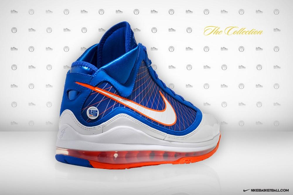 5b1b8c9ab9b Lebron Nike Zoom Soldier VII7 Light Armory Blue White Gamma Blue Armory For  Sale 2 lebron 7 blue