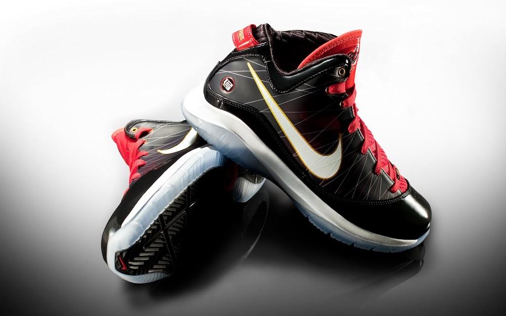 8b9fb2cc724 Releasing Now  Nike LeBron VII P.S. Black White-Sport Red