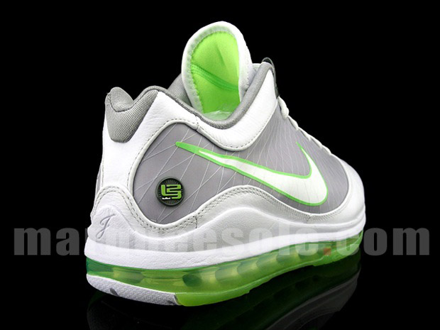 on sale 525e6 d22f2 ... Nike Air Max LeBron VII Low Grey amp Mean Green aka Dunkman ...