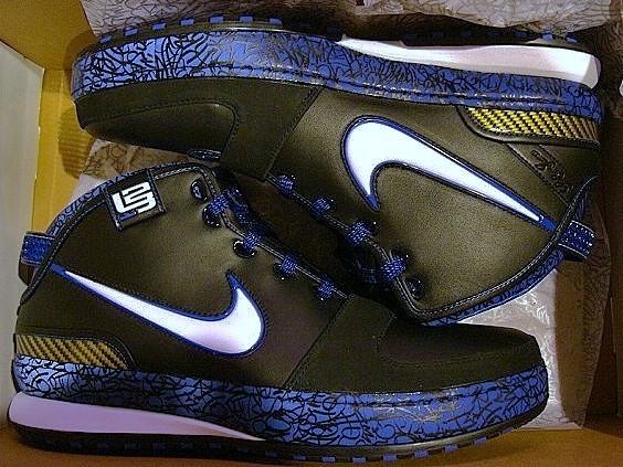Upcoming Black-White-Royal-Maize Nike Zoom LeBron VI  b64e26cdd5