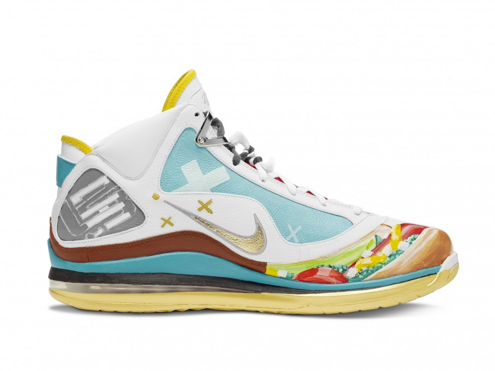c29681efe56 Nike Max LeBron VII Chicago Artist Series Collaboration ...
