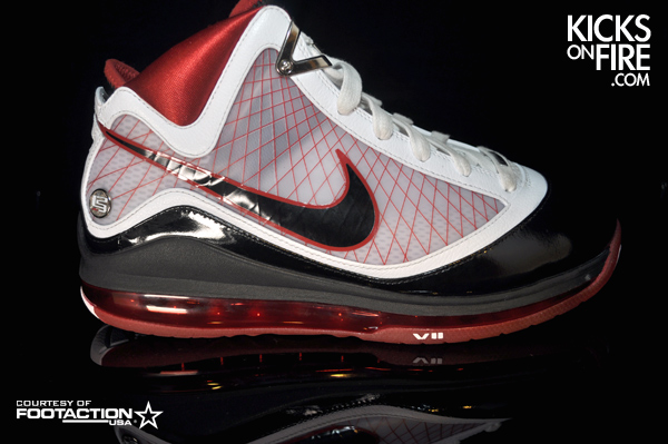 Nike Air Max LeBron VII Alternate Sample – White Bottoms