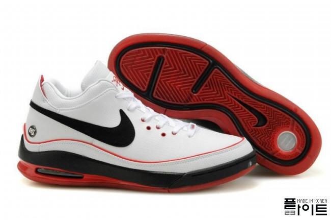 premium selection a6755 48e65 ... Nike Air Max LeBron VII Low WhiteBlackRed amp WhiteGum ...