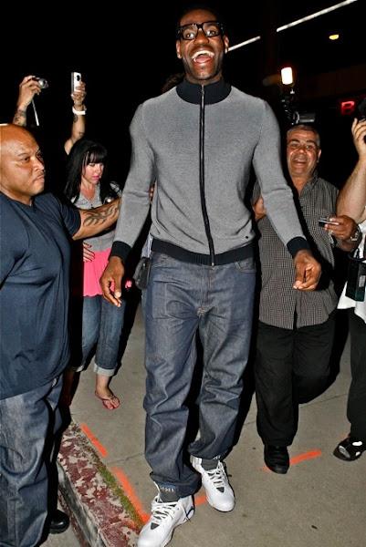 fe0033aa0f53 ... LeBron James Wearing the Nike Air Jordan VII Defining Moments ...
