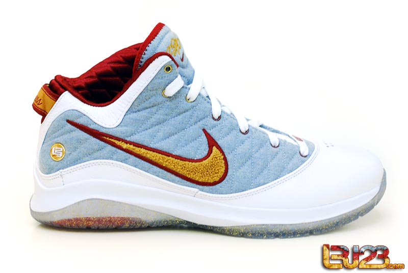 save off d9488 6f521 ... Unreleased Nike LeBron VII PS NFW MVP PE 8211 Detailed Look ...