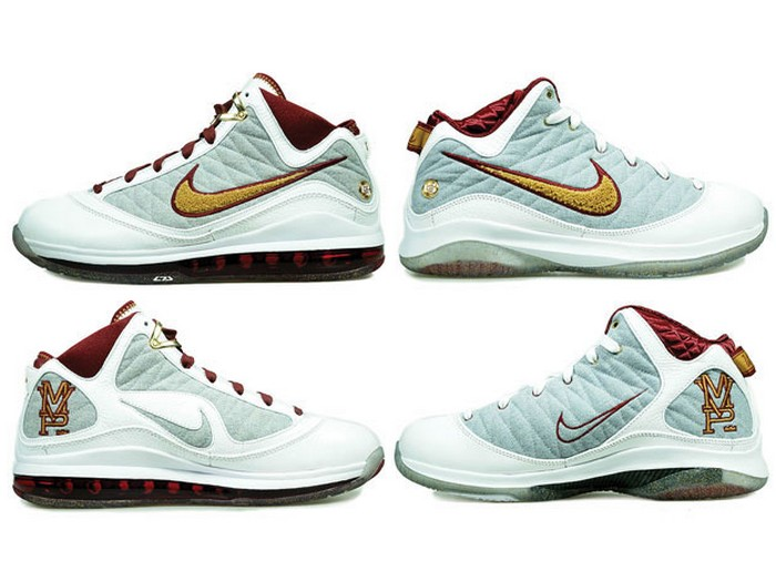 buy popular 556a2 96892 ... MVPs Air Max LeBron VII vs Nike LeBron VII PS 8211 Head to Head