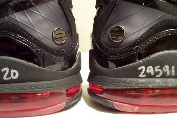 aff8173c07a1 Nike Air Max LeBron VII 7 BlackRed 82208221 Unreleased Wear Test ...