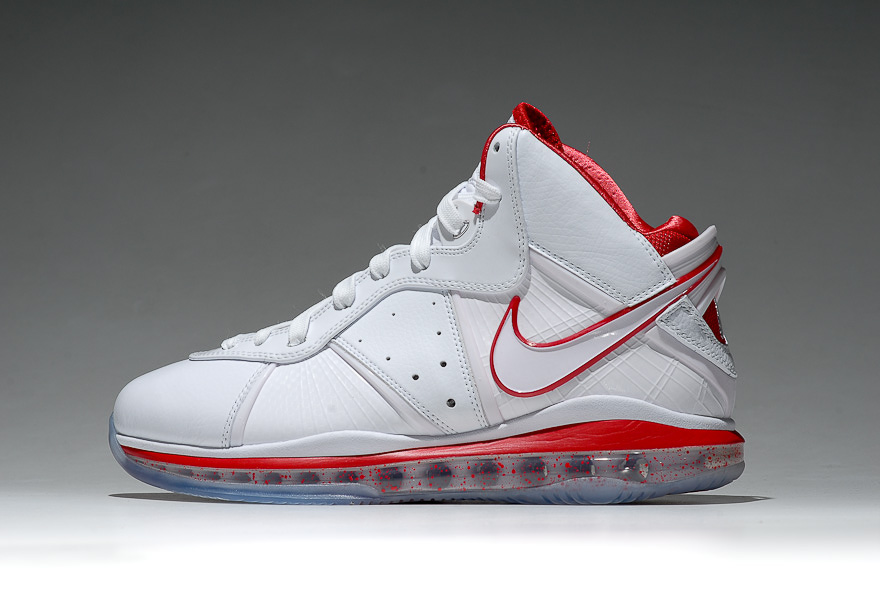 922b216a416 ... Nike LeBron 8 WhiteSport Red China Exclusive Colorway ...