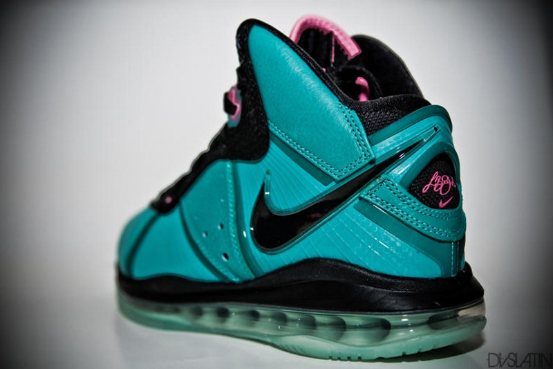 1569431fda6 Nike Air Max LeBron 8 Miami South Beach 8211 Additional Look ...