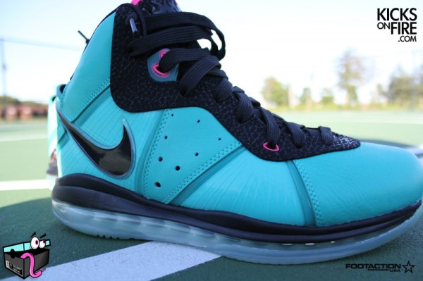 on sale f10f2 a9933 ... Release Reminder Limited Miami South Beach Nike LeBron 8 ...