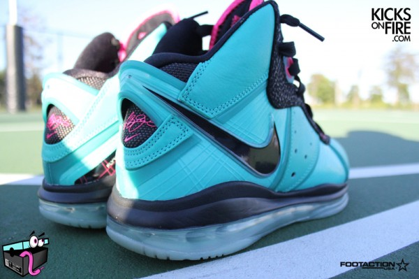 purchase cheap 780cb f9932 Release Reminder  Limited Miami South Beach Nike LeBron 8   NIKE LEBRON -  LeBron James Shoes