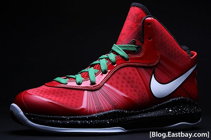1b73ae61dfabd ... Nike Air Max LeBron 8 V2 Christmas Day Special 8211 December 25th ...