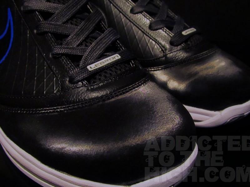 02abb471eb3 Nike Air Max LeBron VII 8220Space Jam8221 Custom inspired by Jordan XI ...