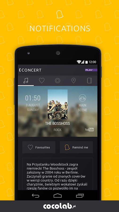 Woodstock Festival Poland 2014 - screenshot