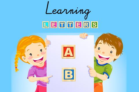 Learning letters- screenshot