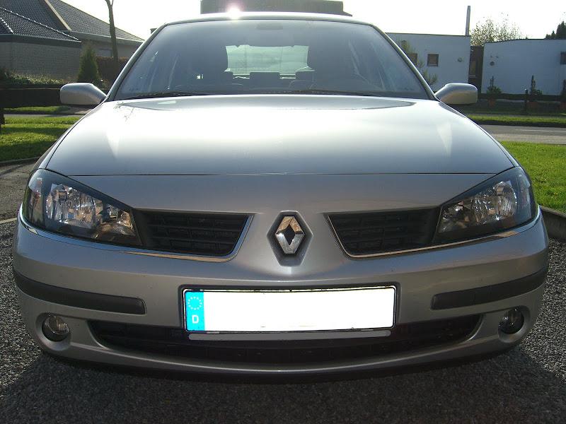 Renault Laguna II (Frontalansicht)